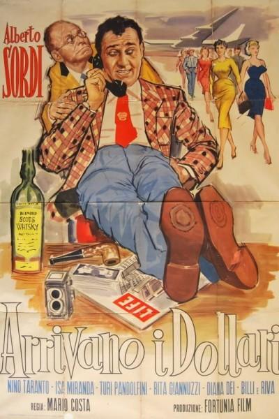 Caratula, cartel, poster o portada de Arrivano i dollari!