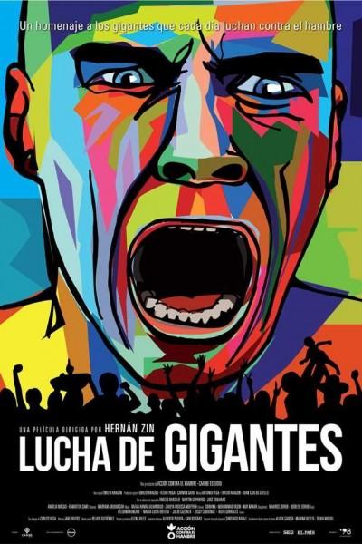 Caratula, cartel, poster o portada de Lucha de gigantes