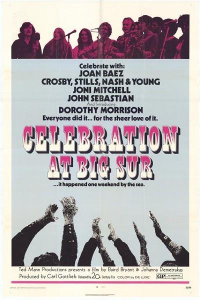 Caratula, cartel, poster o portada de Celebration at Big Sur