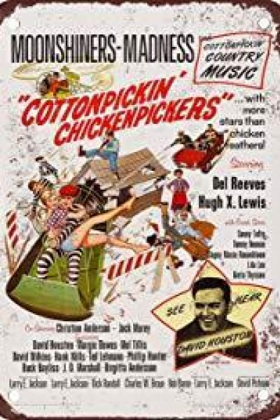 Caratula, cartel, poster o portada de Cottonpickin\' Chickenpickers