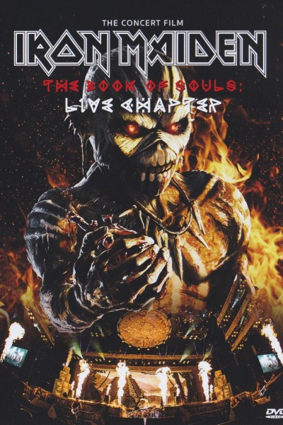 Caratula, cartel, poster o portada de Iron Maiden: The Book of Souls: Live Chapter