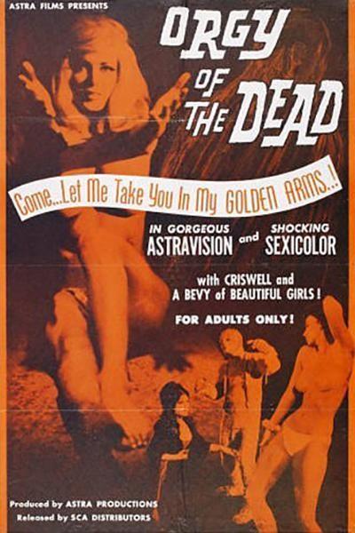 Caratula, cartel, poster o portada de La orgía de los muertos