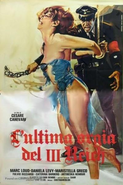 Caratula, cartel, poster o portada de La última orgía de la Gestapo