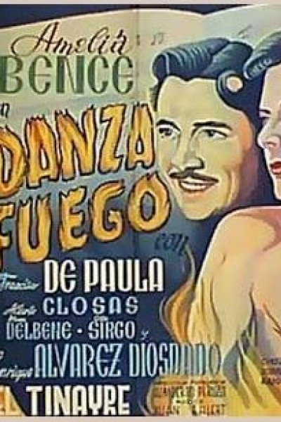 Caratula, cartel, poster o portada de Danza del fuego
