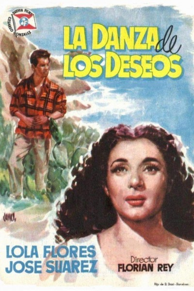 Caratula, cartel, poster o portada de La danza de los deseos