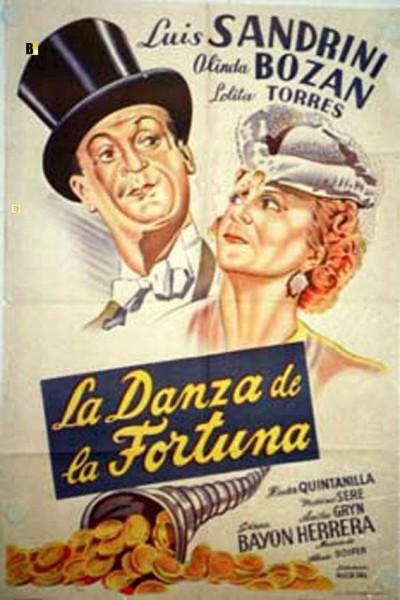 Caratula, cartel, poster o portada de La danza de la fortuna