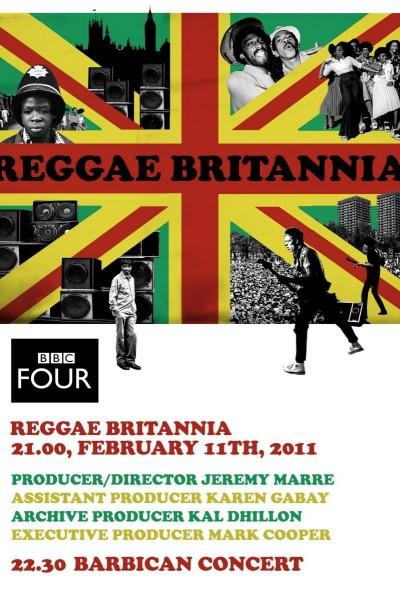 Caratula, cartel, poster o portada de Reggae Britannia