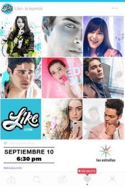 Caratula, cartel, poster o portada de Like, la leyenda