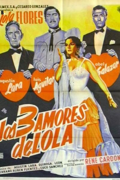 Caratula, cartel, poster o portada de Los tres amores de Lola (Lola Torbellino)