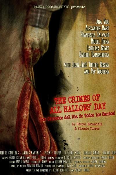 Caratula, cartel, poster o portada de Los crímenes del día de Todos los Santos