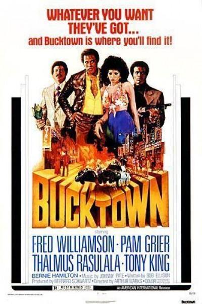 Caratula, cartel, poster o portada de Bucktown