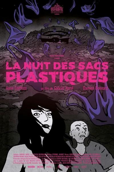 Caratula, cartel, poster o portada de La noche de las bolsas de plástico