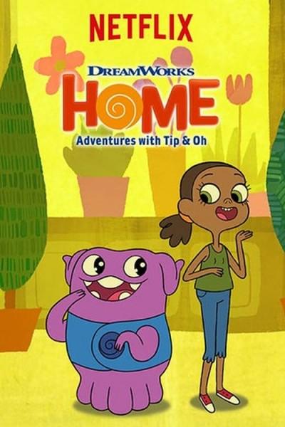 Caratula, cartel, poster o portada de Home: Adventures With Tip & Oh
