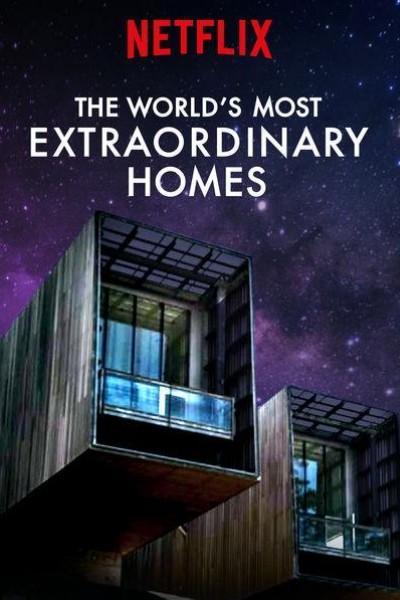 Caratula, cartel, poster o portada de Las casas más extraordinarias del mundo