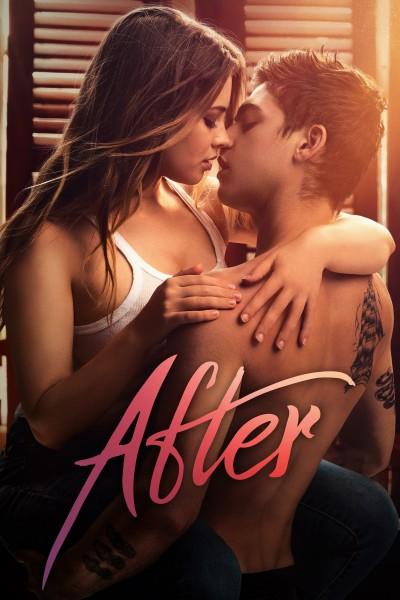 Caratula, cartel, poster o portada de After. Aquí empieza todo