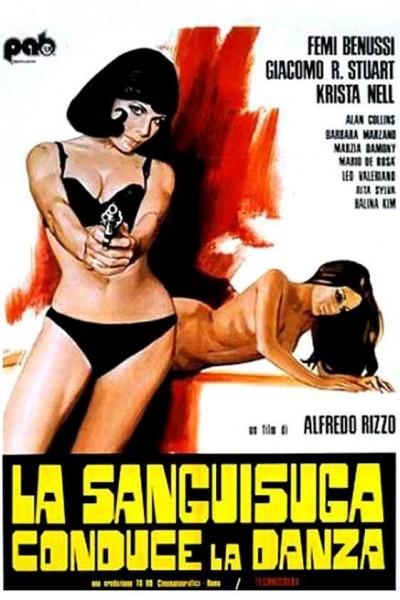 Caratula, cartel, poster o portada de La vampiresa guía el baile (Danza macabra)