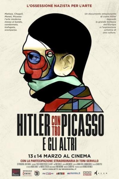 Caratula, cartel, poster o portada de Hitler vs. Picasso y otros artistas modernos