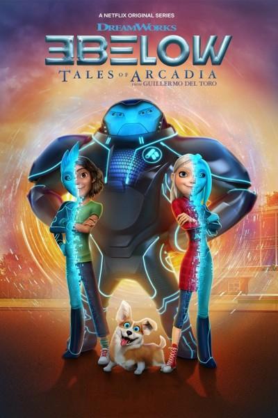Caratula, cartel, poster o portada de Tales of Arcadia: 3Below