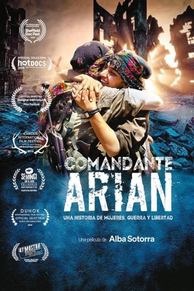 Caratula, cartel, poster o portada de Comandante Arian, una historia de mujeres, guerra y libertad