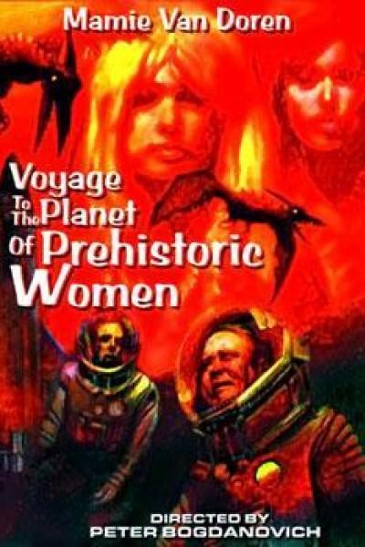 Caratula, cartel, poster o portada de Viaje al planeta de las mujeres prehistóricas