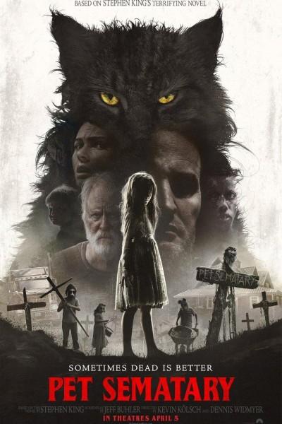 Caratula, cartel, poster o portada de Cementerio de animales