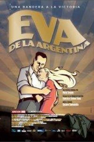 Caratula, cartel, poster o portada de Eva de la Argentina