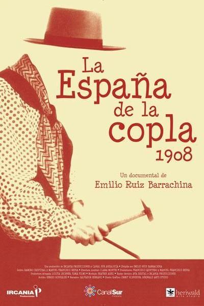Caratula, cartel, poster o portada de La España de la copla