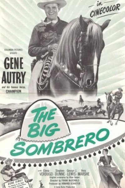 Caratula, cartel, poster o portada de The Big Sombrero