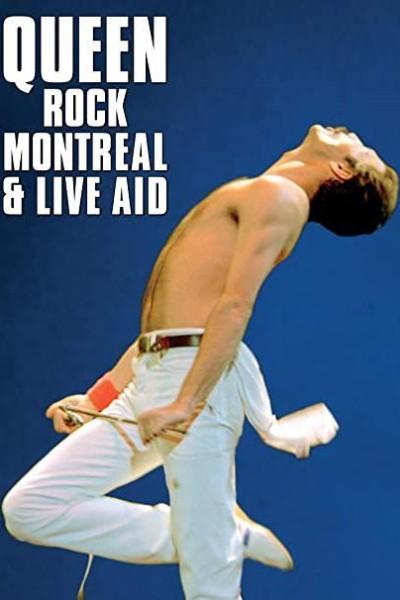 Caratula, cartel, poster o portada de Queen Rock Montreal & Live Aid