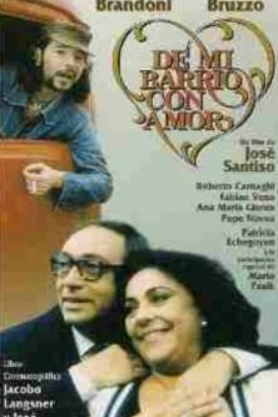 Caratula, cartel, poster o portada de De mi barrio con amor