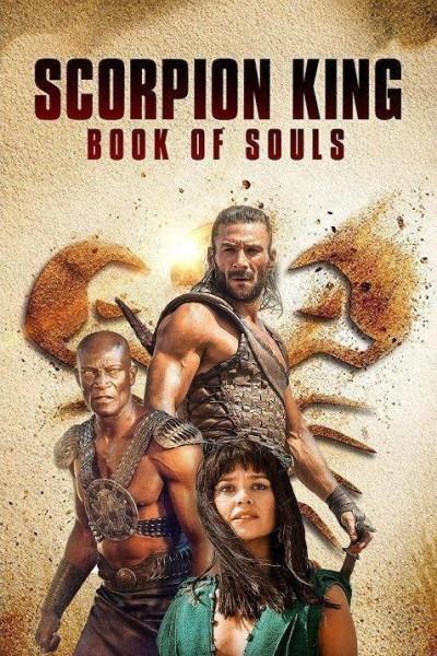 Caratula, cartel, poster o portada de El Rey Escorpión: El libro de las almas