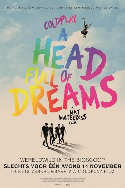Caratula, cartel, poster o portada de Coldplay. A head full of dreams