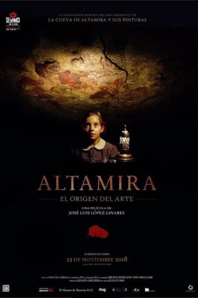Caratula, cartel, poster o portada de Altamira, el origen del arte