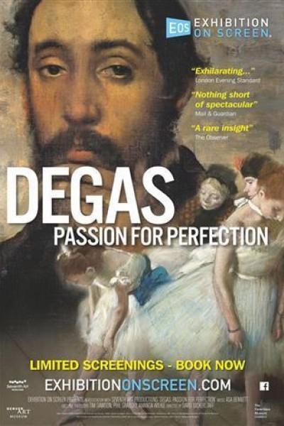 Caratula, cartel, poster o portada de Degas. Pasión por la perfección