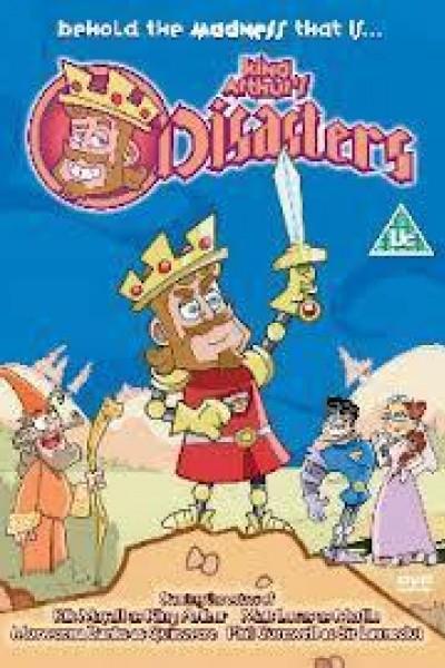 Caratula, cartel, poster o portada de Los desastres del rey Arturo