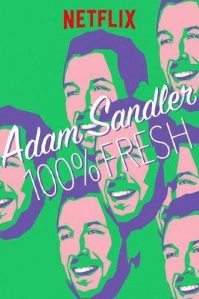Caratula, cartel, poster o portada de Adam Sandler: 100% Fresh