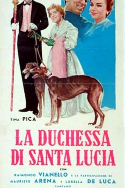 Caratula, cartel, poster o portada de La duchessa di Santa Lucia