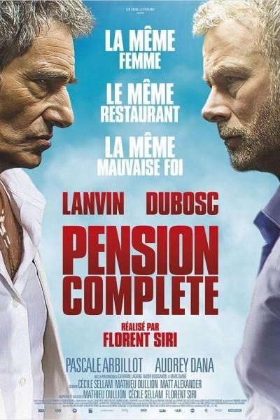 Caratula, cartel, poster o portada de Pensión completa
