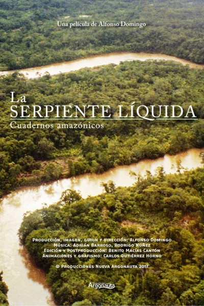 Caratula, cartel, poster o portada de La serpiente líquida