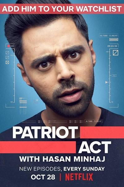 Caratula, cartel, poster o portada de Patriota no deseado con Hasan Minhaj