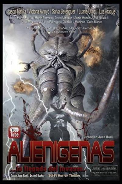 Caratula, cartel, poster o portada de Alienígenas