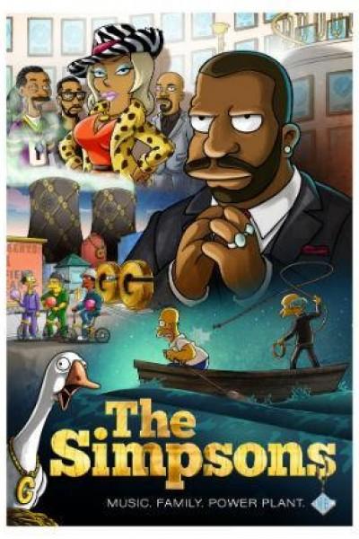 Caratula, cartel, poster o portada de The Simpsons: The Great Phatsby