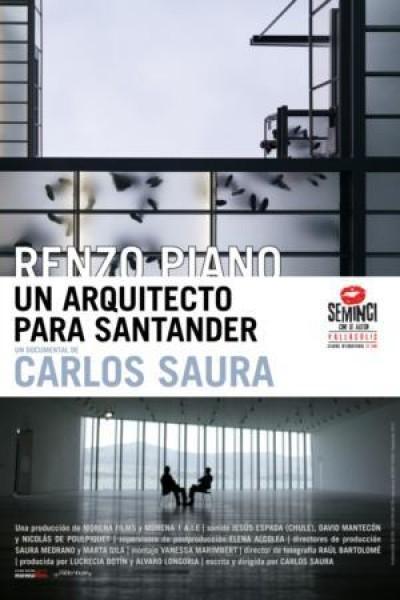 Caratula, cartel, poster o portada de Renzo Piano, un arquitecto para Santander