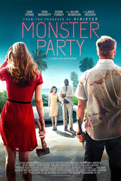 Caratula, cartel, poster o portada de Monster Party