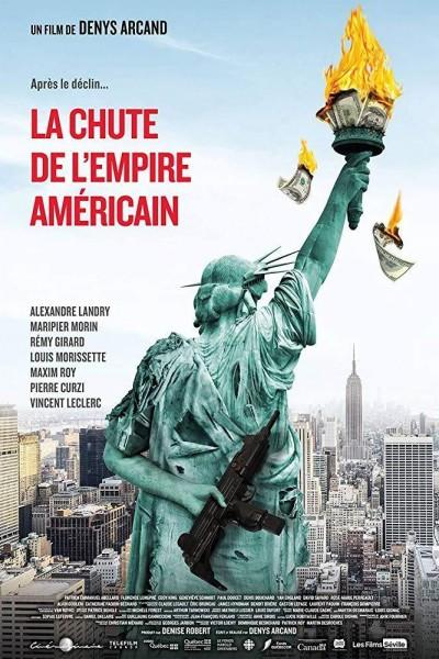 Caratula, cartel, poster o portada de La caída del imperio americano