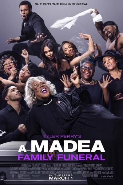 Caratula, cartel, poster o portada de Tyler Perry\'s a Madea Family Funeral