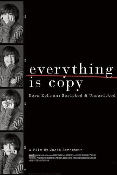 Caratula, cartel, poster o portada de Todo es una copia