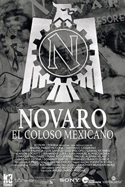 Caratula, cartel, poster o portada de Novaro, el coloso mexicano