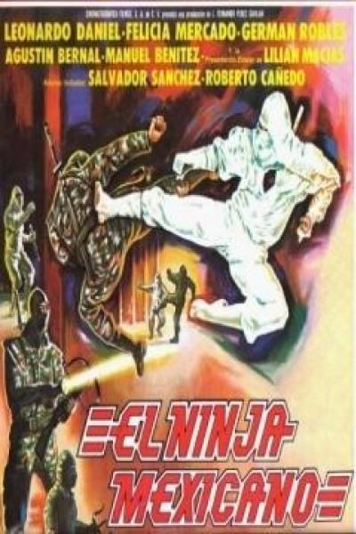 Caratula, cartel, poster o portada de El ninja mexicano