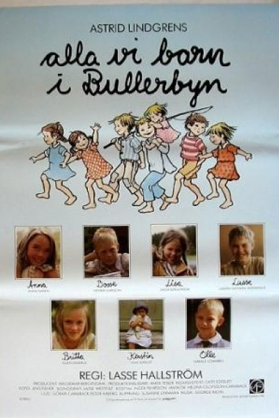 Caratula, cartel, poster o portada de The Children of Bullerby Village